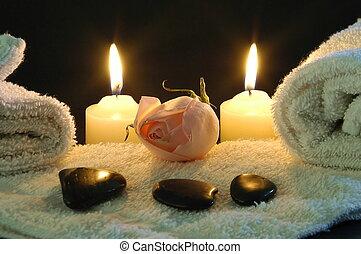 Noche romántica de spa