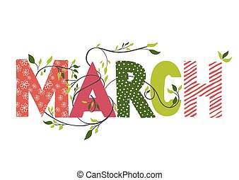 Nombre del mes de marzo.