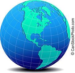 Norte América mundial