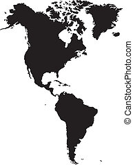 norteamericano, continente