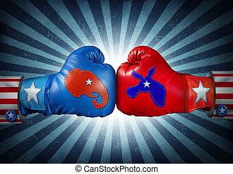 norteamericano, elección