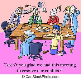 nosotros, resolución, esto, tenido, contento, soy, reunión, conflicto