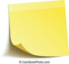 Nota amarilla