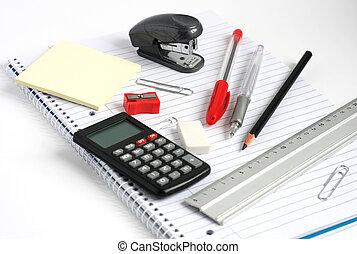 Nota de cálculos de la regla de los lápices
