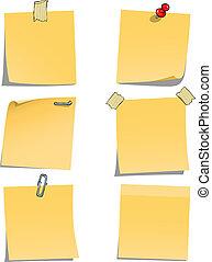 Notas adhesivas