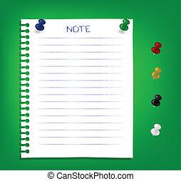 Notas de recordatorio
