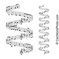 notas, personal musical