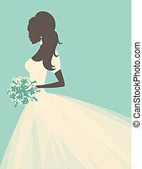 novia, romántico
