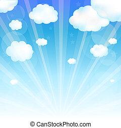 nube de cielo