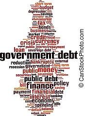 Nube de deuda del gobierno