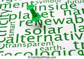Nube de energía renovable