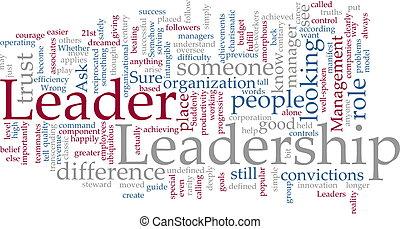 Nube de liderazgo