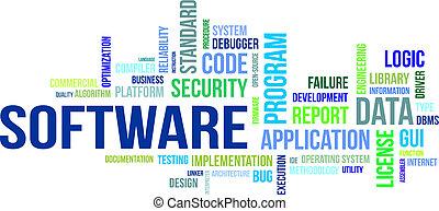 Nube de palabras, software
