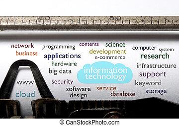 Nube de tecnología de información