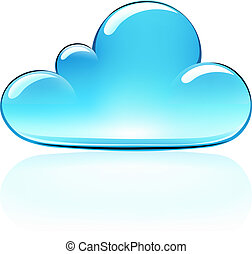 nube, icono