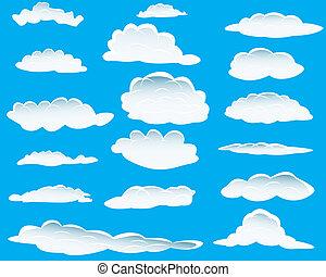 Nubes diferentes