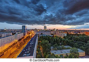 Nubes oscuras sobre Berlín