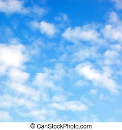 Nubes peludas