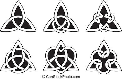 Nudos del triángulo celta
