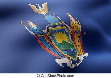 nueva bandera de york, estado
