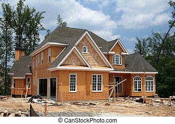 Nueva casa aún en construcción