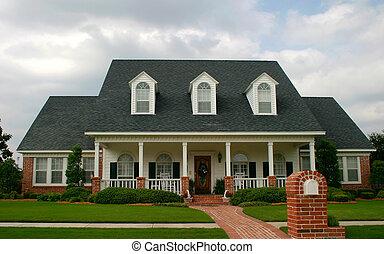 Nueva casa de estilo clásico