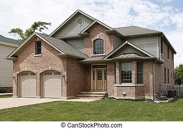 Nueva casa de ladrillos