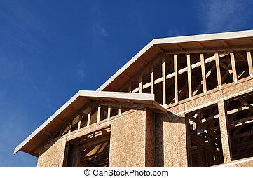 Nueva casa en construcción