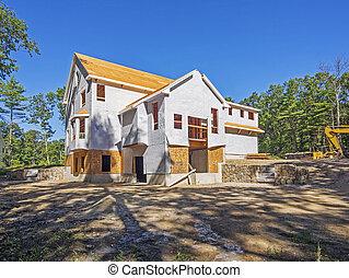 Nueva construcción de casas