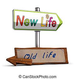 Nueva vida, imagen 3D