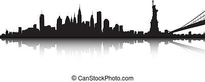 nueva york, paisaje