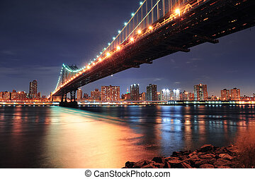 Nueva York, puente Manhattan