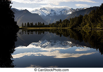 Nueva Zealand - lago espejo