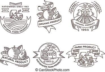 Nuevas etiquetas, placas y elementos de diseño