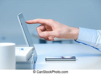Nuevas tecnologías en el trabajo