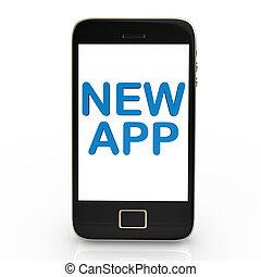 nuevo, app