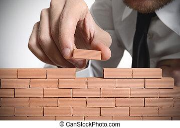nuevo construye, empresa / negocio
