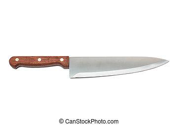nuevo, cuchillo, cocina