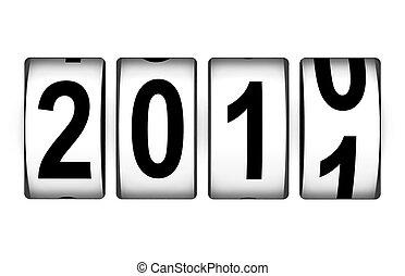 nuevo, mostrador, 2011, año