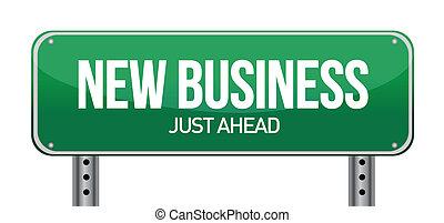 Nuevo signo de negocios