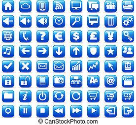 Nuevos botones de internet y medios de comunicación