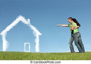 Nuevos compradores para hipotecas, préstamos caseros