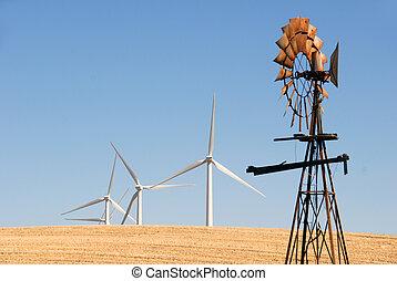 Nuevos molinos de viento para los viejos