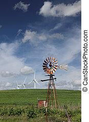 Nuevos molinos de viento para viejas turbinas de viento
