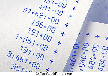 numbers., computational, peso, costes, rayas, gastos, rentas