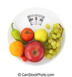 nutrición, dieta