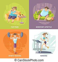 Obesidad y concepto de salud establecidos