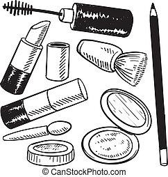 Objetos cosméticos