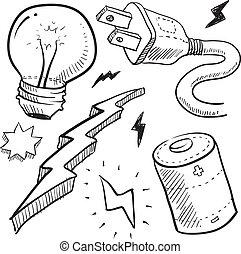 Objetos de electricidad