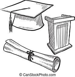 Objetos de graduación
